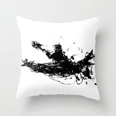 Kayakers Kayak Throw Pillow