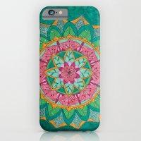 Pink Flower Mandala iPhone 6 Slim Case