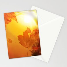 Lief of autumn Stationery Cards