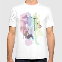 NQ Mens Fitted Tee White SMALL