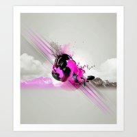 Sky Motion Art Print
