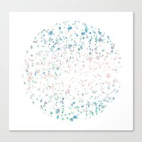 Confetti Canvas Print