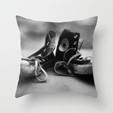 Converse High-tops  Throw Pillow