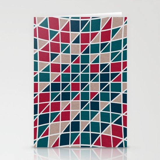 Pattern distortion. Stationery Card
