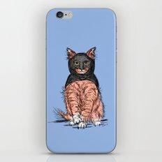 Periwinkle Pink Bat Cat iPhone & iPod Skin