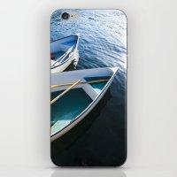 Winter Harbor Dory - Mai… iPhone & iPod Skin