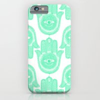 iPhone & iPod Case featuring Hamsa  by Luna Portnoi