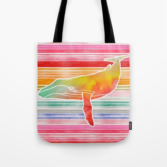 Whale  by Jacqueline Maldonado & Garima Dhawan Tote Bag