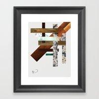 Streets of New York Framed Art Print