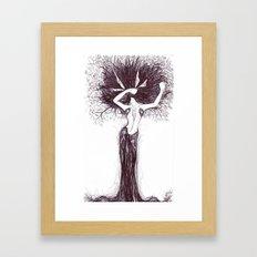 spring stretches Framed Art Print