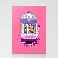 Love Machine Stationery Cards