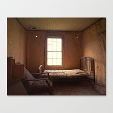 Ghost Bedroom Canvas Print