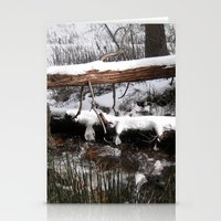 Winter's Light Stationery Cards