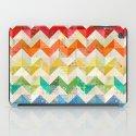 Chevron Rainbow Quilt iPad Case