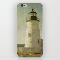 Pemaquid Lighthouse iPhone & iPod Skin