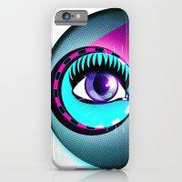 Halftone Eyeball iPhone 6 Slim Case