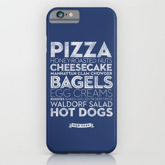 New York — Delicious City Prints iPhone & iPod Case