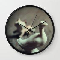 goose & fox Wall Clock