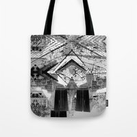 Summer space, smelting selves, simmer shimmers. 24, grayscale version Tote Bag