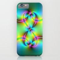 Neon Love Knots iPhone 6 Slim Case