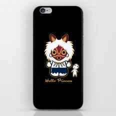 Hello Princess iPhone & iPod Skin