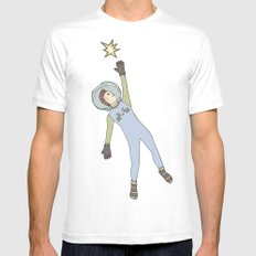 Star from the sky Mens Fitted Tee SMALL White