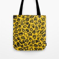 Heads. Tote Bag
