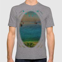 Bodrum Mens Fitted Tee Athletic Grey SMALL