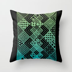 Carpet Ride Throw Pillow