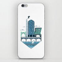 Welcome to the Riverside Quarter iPhone & iPod Skin