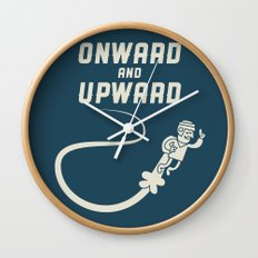 Onwards & Upwards! Wall Clock