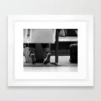 Waiting #7 Framed Art Print