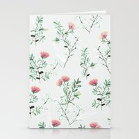 springtime pink Stationery Cards