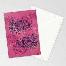 Hamsa, the swan Stationery Cards