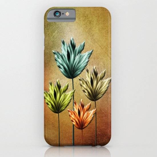 Four Fractal Flowers iPhone & iPod Case