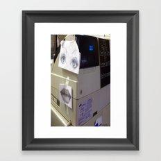Cash Register Framed Art Print