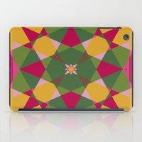 Shades Of Flowers iPad Case