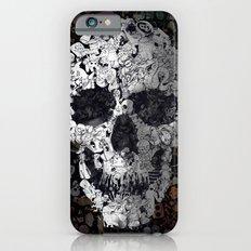 Doodle Skull Slim Case iPhone 6s