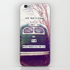 oh darling, let's be adventurers iPhone & iPod Skin