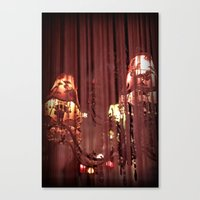 Torn and Frayed Canvas Print