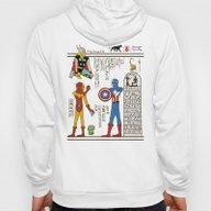 Hero-glyphics: Avengers Hoody