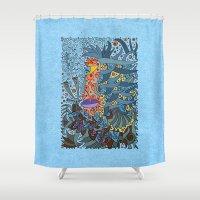 - Sea Ghost - Shower Curtain