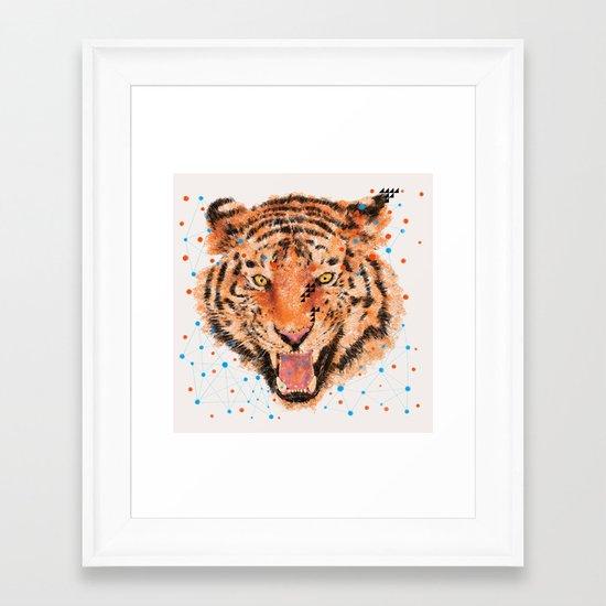 TIGER I Framed Art Print