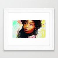Little Simz Framed Art Print