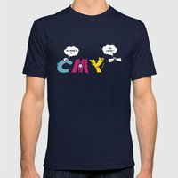 CMYK  Mens Fitted Tee Navy SMALL