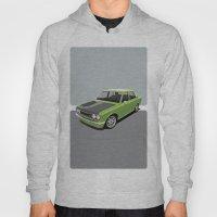 Datsun 510 - Green Hoody