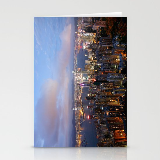 Hong Kong Stationery Card