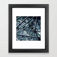 ferris wheel 03 Framed Art Print