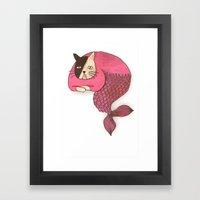 mercat Framed Art Print