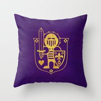 Castle Mama Crest Throw Pillow